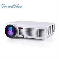 big movie theater - Best HD LED Home theater projetor LED96 lumens with HDMI USB VGA AV TV enjoy big screen movie