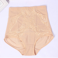 beautiful women underwear - New Plus Size XL kg women panties Shapers Belly in carry buttock corset beautiful body underwear Net yarn with pockets