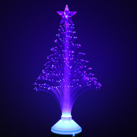 beautiful optical - Beautiful Romantic LED Fiber Optical Nightlight Flower Light Stage Light Christmas Tree Lamp W E27 Base V Blue