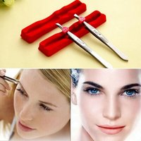 Wholesale Professional stainless steel eyebrow makeup nose pliers to pull the beard armpit hair tools
