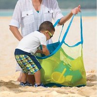 Wholesale Sand Away Carry All Beach Mesh Bag Tote Swim Toys Boating XL size outdoor travel Hot Selling Household Mesh bag