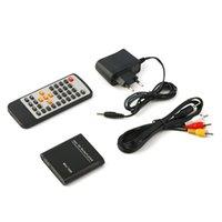 av flash - New Mini P Easy USB Flash Memory Card AV Port TV Multi HD Media Player Black