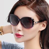 avant garde sunglasses - The new ms polarized sunglasses tide big box round face elegant sunglasses personality avant garde driving glasses