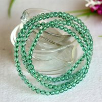 apatite necklace - High Quality Natural Genuine Clear Green Apatite Carbapatite Stretch Bracelets Round mm Beads Times Fit Jewelry Necklace Bracelets
