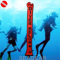 Wholesale SCUBA Diving equipment SMB underwater safety signal dive Buoy float inflate tube M diver below sausage