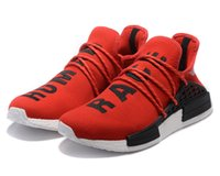 Wholesale NMD Human Race Runner Boost Pharrell s Runners and Trainers Boost Running Shoes Williams Pharrell men women Casual Shoes