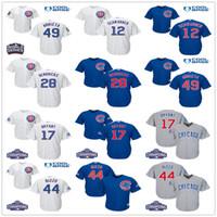 Baseball banks red - Youth Chicago Cubs Kyle Schwarber kris bryant Anthony Rizzo Jake Arrieta Jon Lester Hendricks Banks Kids Baseball Jerseys