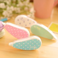 Wholesale Aihao Kawaii Decoration Sticker Tape Pen Roller Correction Tape Cute Kids Stationery School Supplies Tool For Studen Girls Boys