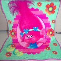 Wholesale Kids size Trolls Children Fashion Blanket cm super soft Warmer Blanket Bed Sleeping Costume