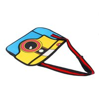 Wholesale 3D Jump Style D Drawing From Cartoon Three Dimensional Camera Shape Bag