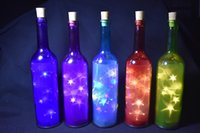beach holiday park - Home Decoration Solar Powered LED Color Changed Solar Glass Bottle Light use in garden beach park