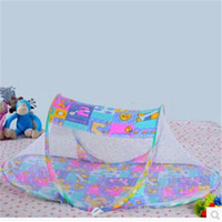 Wholesale Portable baby crib Boat Shape Baby Instant Crib Portable Mosquito Mesh Tent Foldable Net mosquito net bed