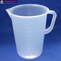 beaker handle - ml plastic measuring lab beaker with handle Clear White Plastic Measuring Cup Beaker for Lab Kitchen