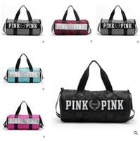 american storage - love Pink Travel Bag Secret Storage Bag organizer Waterproof Victoria Casual Beach Exercise Women shopping Bag