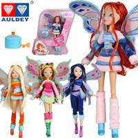 believix toys - 2016 New Arrival styles Believix Fairy amp Lovix Fairy Winx Club Doll rainbow colorful girl Fairy Bloom Dolls with Classic Toys