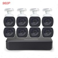 Wholesale Cotier CH AHD DVR U HDD Port Camera Set Analog MP P mm Lens Camera CCTV Security Recording System P2P