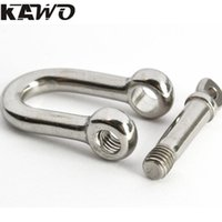 adjustable stainless steel shackle - mm D Shackle Stainless Steel Adjustable Paracord Buckles Climbing Camping Survival Equipment
