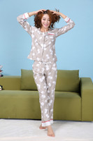 bella pants - Kasiria Women s Cotton high qualityl Basics pc Coat Bella Long Sleeve Top and Pant Pajama Set XS L