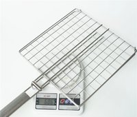 Wholesale Professional Stainless Steel Barbecue Grill Best quality Grill Grates Vertical Charcoal BBQ Grill Roast Fish Meat BBQ