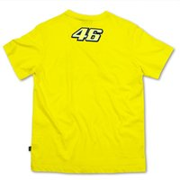 Wholesale 2016 New MotoGP Valentino Rossi VR46 T Shirt Motorcycle Motorbike Racing Tees Cotton Yellow Jersey Casual Sports Clothes Shirts