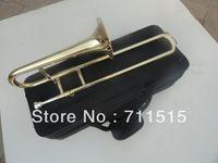 Wholesale bach trombone soprano loudspeakers trombone children beautiful voice tenor trombones conn d