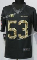 anthracite color - Men s NaVorro Bowman Anthracite Salute to Service Jersey Color Rush San Francisco Limited Jersey ers jersey