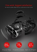Wholesale SHINECOM generation luxury vr case virtual reality headset game D glasses VR BOX Upgraded Version Virtual Reality Video Glasses