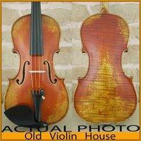 antique violin case - Stradivarius Cremonese Violin Model Antique varnish Free violin case bow and rosin No
