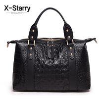 big body pillow - X starry famous brand women handbags crocodile pattern leather women shoulder bag women messenger bags ladies totes big HL8283S