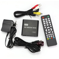 Wholesale Mini HDD Media Palyer HDMI HD P Disk Player Multimedia TV Box Advertising MKV Car Media Player IR Emitter Extension Cable