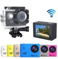 Wholesale SJ7000 Mini WIFI Camera Action Recorder Cam Go P HD Sport DV Pro Camcorder Car DVR Waterproof Helemt Cam Hunting Cameras
