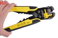 Wholesale Multifunctional Automatic Adjustable Cable Wire Stripper Cutter Crimping Tool Peeling Pliers Automatic Cable Repair Terminal Tool Hot TK0742