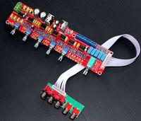 Тонов панели Цены-Freeshipping YJ NE5532 предусилитель доска двойного AC12V-0-12В HIFI 5.1 тонов панели управления громкостью пластина предусилителя смеситель доска предусилитель доска