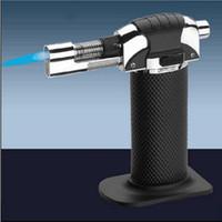Wholesale Metal Melting Butane Jet Torch lighter Portable brazing solderin Large Welding Soldering Gun Tools Butane Gas Flame Torch Lighter F201789
