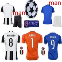 adult football leagues - League patch Adult Kits Juven home and away Goalkeeper tus Rugby Jerseys HIGUAIN DYBALA PJANIC MARCHISIO football tus
