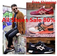 Wholesale 2016 New Colors Asics Gel Lyte V5 Running Shoes III For Women Men Lightweight Breathable Athletic Casual Shoes Sport Sneakers Eur Size