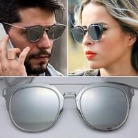 Wholesale Sale Hot New Summer Composit Sunglasses Women Brand Designer Sunglasses Steampunk Fashion Men Sunglasses Oculos De Sol Sunglasses