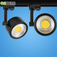 Wholesale 4pcs High Power LED Track Light W COB Rail Light W LED Spotlight Equal to W Halogen Lamp AC85 V