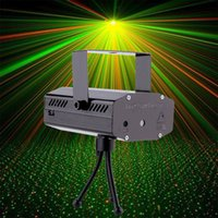 Wholesale Mini Projector R G DJ Disco Light Stage Xmas Party Laser Lighting Show DJ BK US PLUG Hot Search
