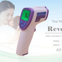 Wholesale For Baby Adult Electronic Digital Thermometer Non Contact Infrared IR Forehead Muti fuction Thermometer Infant Free DHL