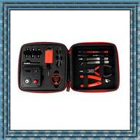 El kit más nuevo de la herramienta del kit V3 DIY del kit principal de la bobina Nuevo kit de herramienta 2.0 del amo de la bobina para reconstruir el tanque RDA RBA Atomizer Vape Mod de alta calidad DHL libre