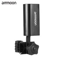 Wholesale ammoon Adjustable Multi functional Clamps Clip on Drum Stick Holder Keeper Box Case Container Metal Black