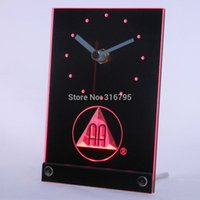 beer alcoholic - tnc0134 Alcoholics Anonymous AA Beer D LED Table Desk Clock