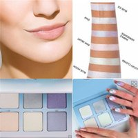 Wholesale Newest Makeup Face Glow Kit Moon Child Metallic Powder Highlighters Colors Powder Palette free DHL