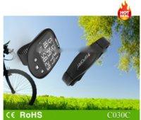 Ordinateur de vélo sans fil imperméable à l'eau avec fréquence cardiaque, baramètre, altimètre