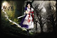 alice silk - x35 inch Anime Alice Madness Returns Poster HD HOME WALL Decor Custom ART Silk PRINT unframed