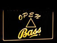 bass club - LS437 y Bass Beer Logo Bar Pub Club Neon Light Sign jpg