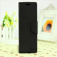 Mercury Portefeuille en cuir PU Hybrid Case Folio Flip Housse pour Samsung Galaxy s3 s4 s5 s6 Edge Note Mini 3 4 Pas de paquet
