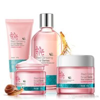 Wholesale Red Ginseng Snail Series in Facial Cleanser Face Moisturizer Essence Cream Eye Care Cream