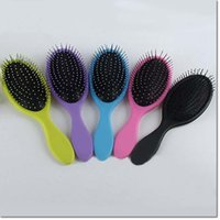 Wholesale make up tools hair brushes brush massage brush plastic airbag Detangling combs for women girls family brushes comb colors for choose